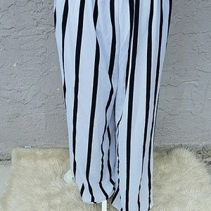 544f1e12496 J for justify Pants - J for Justify striped flare jumpsuit.